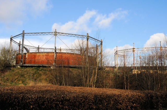 Gas reservoir photo