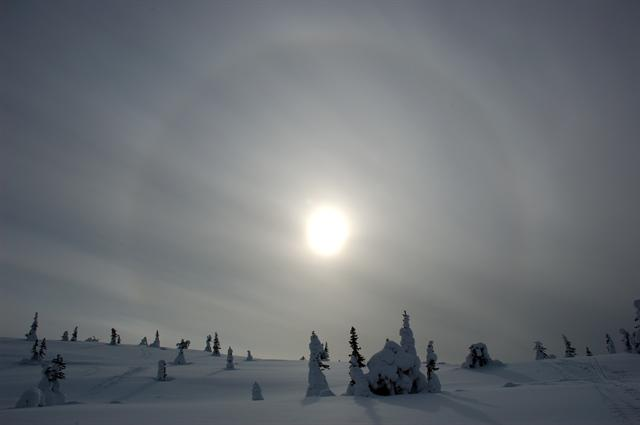 halo, icebow photo