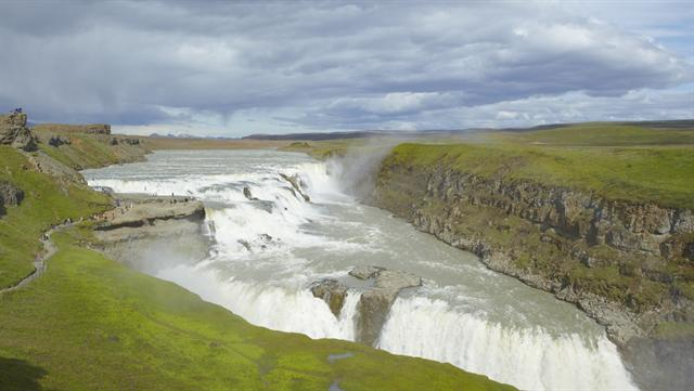 Gullfoss photo