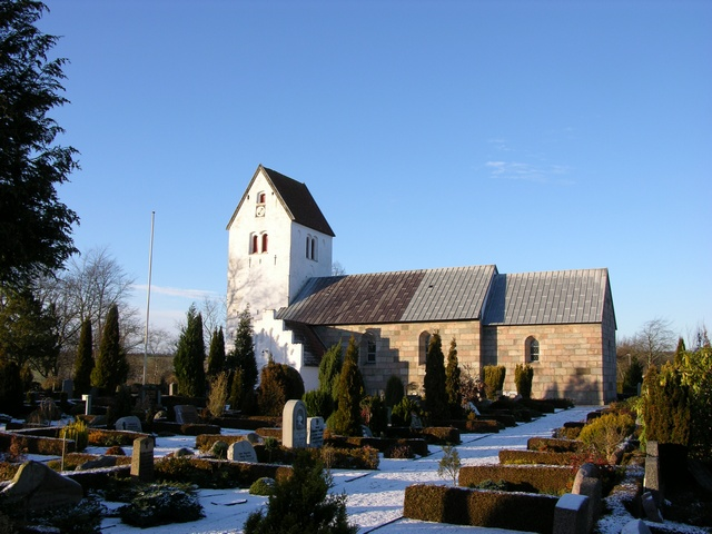 Rodding Kirke photo