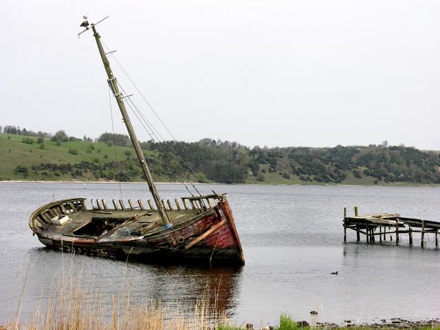 skibsvrag i danmark