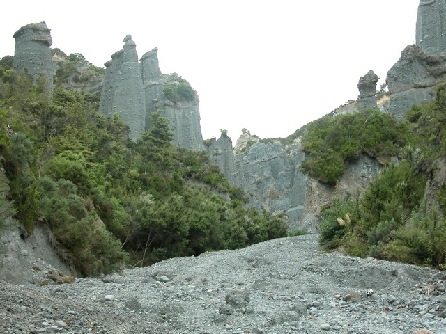 Putangirua Pinnacles photo