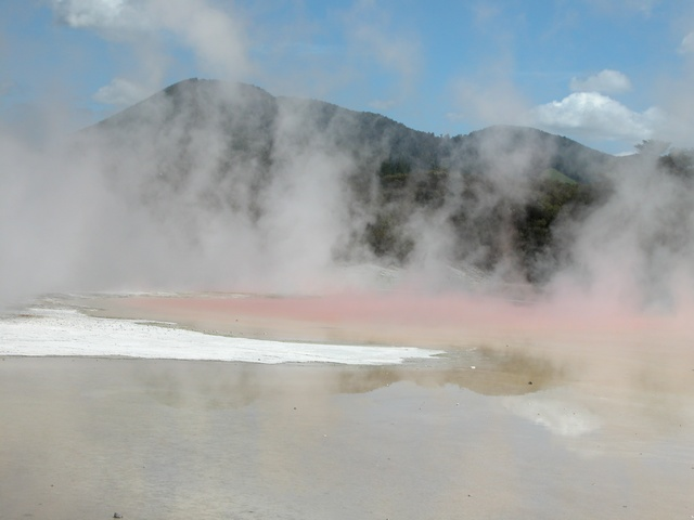 geothermal activity, vulcanic
