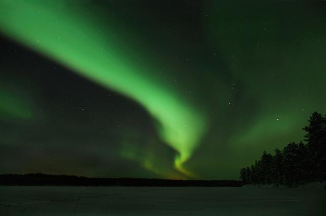 Northern light, polar light photo